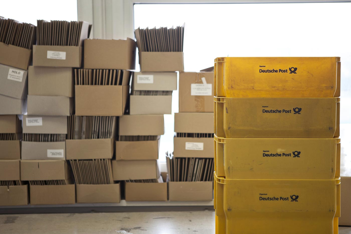 Shipping with OML, Photo by Sina Diehl